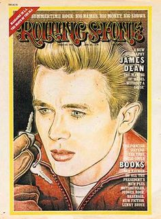 James Dean - Rolling Stone Magazine [United States] (20 June 1974)