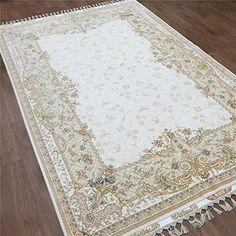 Camel Carpet Ivory Hand Knotted Wool Silk Rug 170x245cm C... https://www.amazon.com/dp/B01HYUJ8NI/ref=cm_sw_r_pi_dp_r4jFxb8HZBM9E