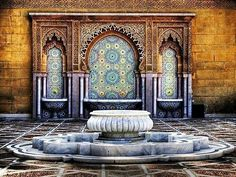 Rabat, Morocco Moroccan Fountain (by