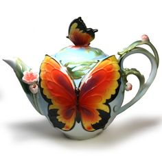 Butterfly Teapot from Queen Mary