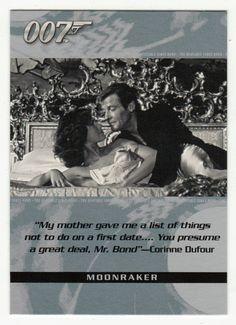 James Bond - The Quotable # 57 - Moonraker