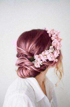 Coloration tendance: rose gold Plus