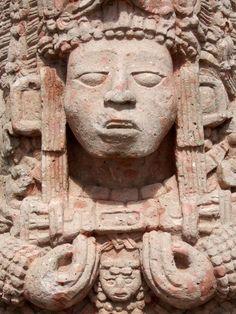 Estela Maya - Copan, Guatemala