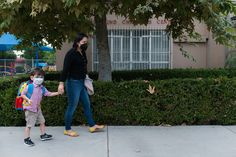 For children with special needs returning to an L.A. classroom, mask-wearing is the least of their troubles.