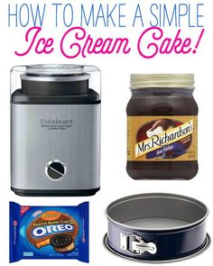 How to Make a Simple Ice Cream Cake | eBay