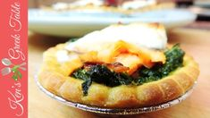 Spinach, Feta & Smoked Salmon Tarts - Ken's Greek Table