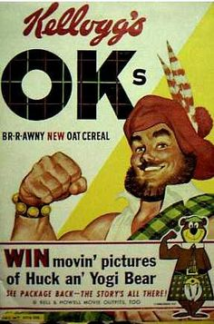 OKs cereal c. 1960