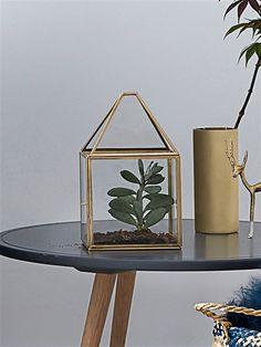 Windlicht, Glas/Metall GLAS