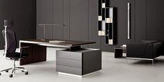 Executive Office Desk contemporary-desks-and-hutches