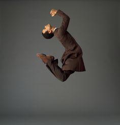 "Martha Graham Dance Company, Christophe Jeannot in ""Appalachian Spring"" (Photo: John Deane)"