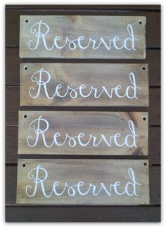 Custom Wooden Wedding signs created by Marlee & Ash Wooden Wedding Signs, Ash, Create, Decor, Grey, Dekoration, Decoration, Wood Wedding Signs, Dekorasyon
