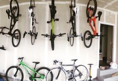 hang your bikes in your garage!