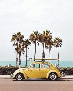 Yellow VW bug in Oceanside, California Printed on Hahnemuhle Photo Rag 308 Free domestic shipping on all orders Right this way for more details Beach Aesthetic, Summer Aesthetic, Retro Aesthetic, Aesthetic Photo, Aesthetic Pictures, Photo Vintage, Vintage Cars, Photo Wall Collage, Picture Wall