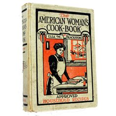 1910 The American Woman's CookBook by Preludes2Art on Etsy, $15.00