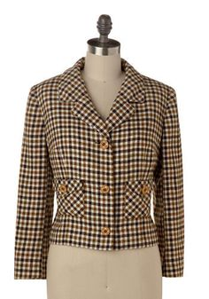 Check The Copy blazer. Adorable vintage style. http://rstyle.me/j4xtcuee
