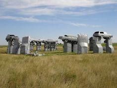 Nebraska's Stonehenge: carhenge