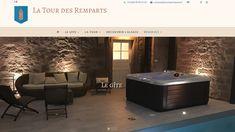 Site vitrine de La Tour des Remparts - Conçu et réalisé par L'insufflerie Site Vitrine, Tour, Bathtub, Bathroom, Home Made, Standing Bath, Washroom, Bathtubs, Bath Tube