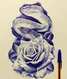 Half Sleeve Tattoos Sketches, Half Sleeve Tattoo Stencils, Tattoo Sleeve Designs, Tattoo Sketches, Chicano Art Tattoos, Body Art Tattoos, Japanese Snake Tattoo, Evolution Tattoo, Ancient Tattoo