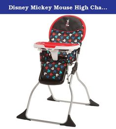 Disney Mickey Mouse High Chair East to Fold. Get your baby ready for ...