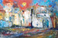 'In de oude stad' 1.20x80