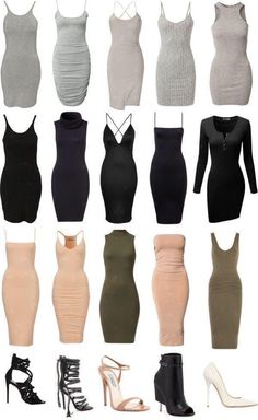 The perfect body suit dresses for fall and winter