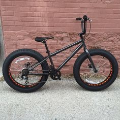 """24"""" fat bike experiments with Wally World crap but interesting possibilities there are a lot of companies making legit small fat bikes but just wanted to try a cheapie by ichibike"""