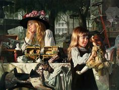 """Passages"" Artist: Bob Byerley Availability: 2 pcs Edition: 394, 544/1500 Size: 30"" 23"" Signed & numbered by the artist"