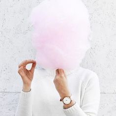Pink cotton candy!