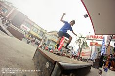 FS NOSEGRIND Hengky Permadi at Yamaha SK8 Point 1st Dec 2013!