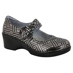 Alegria Womens Ella Mary Jane Heel Pewter Dazzler Size 38 EU 885 M US Women * Learn more by visiting the affiliate link Amazon.com on image.