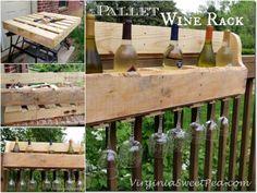 DIY Pallet Wine Rack   DIY Tag
