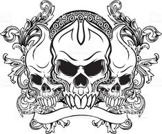 Skull Coloring Pages, Adult Coloring Book Pages, Printable Adult Coloring Pages, Colouring Pages, Coloring Books, Leather Tooling Patterns, Infinity Tattoos, Floral Skull, Halloween Coloring