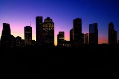 downtown silhouette - Google Search