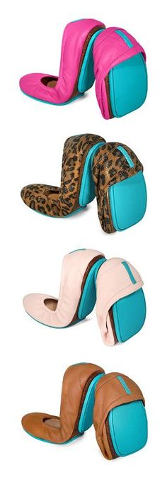 The perfect gift! - Tieks Ballet Flats » I have the two middle pairs and I LOVE them!