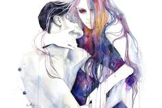 wakeful by agnes-cecile (print image)