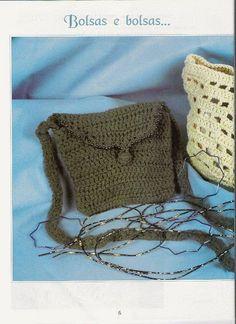 Delicadezas en crochet Gabriela: Bolsas ,carteras y bandoleras ...
