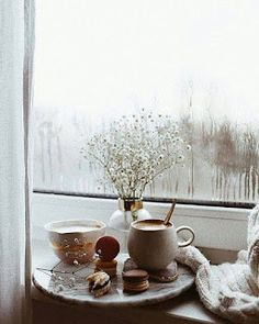 Such a cozy home for tea time. Such a cozy home for tea time. Coffee And Books, I Love Coffee, Coffee Art, Coffee Break, Coffee Mugs, Coffee Maker, Coffee Shop, Cozy Aesthetic, Autumn Aesthetic