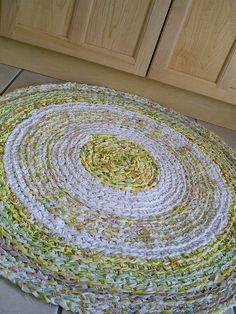I love rag rugs!