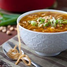 Pad Thai Soup via @Jackie Dodd {Domestic Fits}