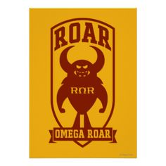 Greek #roar #omega #roar #the #rors #rors #disney #pixar #monsters #university #monsters #inc #inc #sequel #monsters #movie #disney #pixar #fraternity #sorority #the #university #store #school #of #scaring #college #university #school #education #monster #friend #best