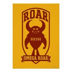 Greek #roar #omega #roar #the #rors #rors #disney #pixar #monsters #university #monsters #inc #inc #sequel #monsters #movie #disney #pixar #fraternity #sorority #the #university #store #school #of #scaring #college #university #school #education #monster #friend #best