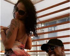 See what Ne-Yo did to his wife's butt in this new photo