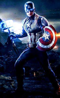 Captain America, Avengers: End Game- wait! That is a toy isnt it. oh well, still looks cool Marvel Avengers, Marvel Fanart, Marvel Comics Superheroes, Marvel Films, Marvel Characters, Marvel Heroes, Iron Man Avengers, Black Panther Marvel, Captain America Wallpaper