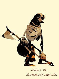 Axe Skeleton.
