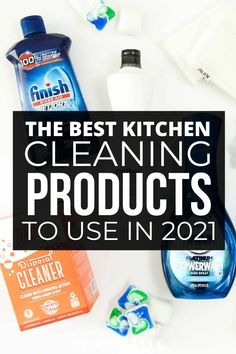 i just moved into my first apartment and had no idea what kitchen cleaning products to get. this was so helpful!
