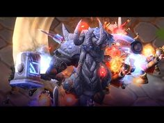Heroes Of The Storm - Muradin Melee Warrior Gameplay Untouchable - Curse...