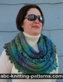 ABC Knitting Patterns - One-Hour Cowl.