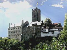 'Wartburg über Eisenach' von Dirk h. Wendt bei artflakes.com als Poster oder Kunstdruck $18.03