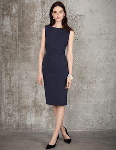 Miracle Sleeveless Shift Dress - Winser London