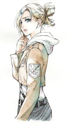 Annie Leonhart from Attack on Titan (Shingeki No Kyojin)